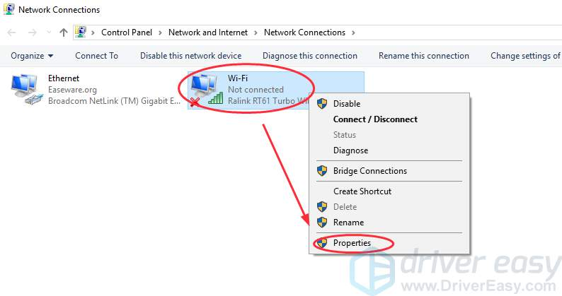 Dhcp Is Not Enabled For Wifi In Windows Easy Fixes Driver Easy