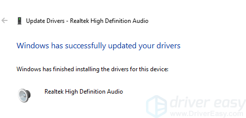 Solved: No Playback Devices in Windows 10 - Driver Easy