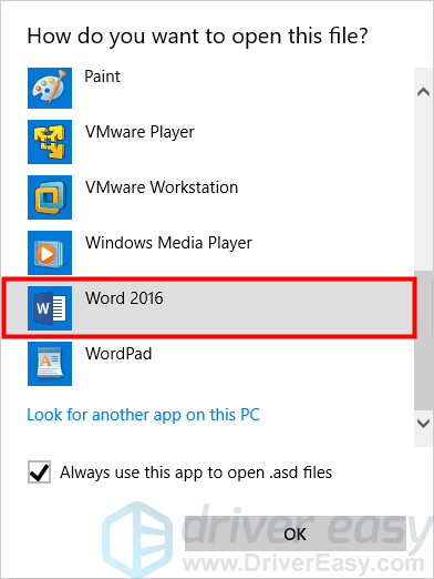 Easily Recover a Lost Word Document in Windows 10 [with
