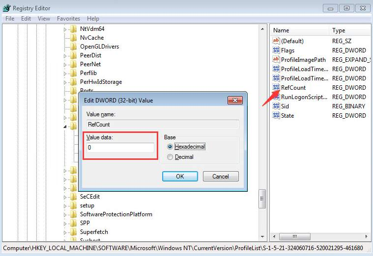user profile service failed to logon server 2008 r2