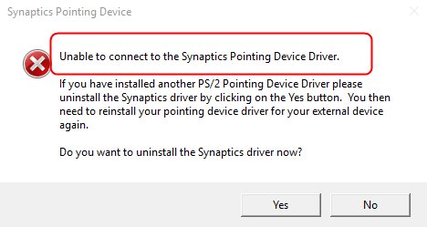 Synaptics Pointing Driver FREE