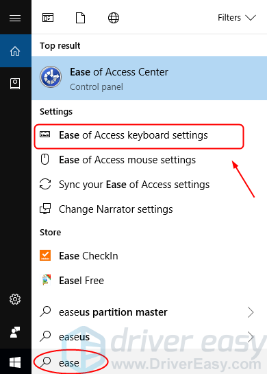 microsoft windows 10 keyboard not working