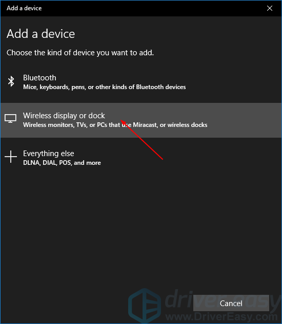 How to set up Miracast in Windows 10 & fix it if it stops