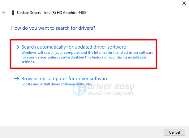 How to update intel hd graphics drivers on windows 10 driver easy.