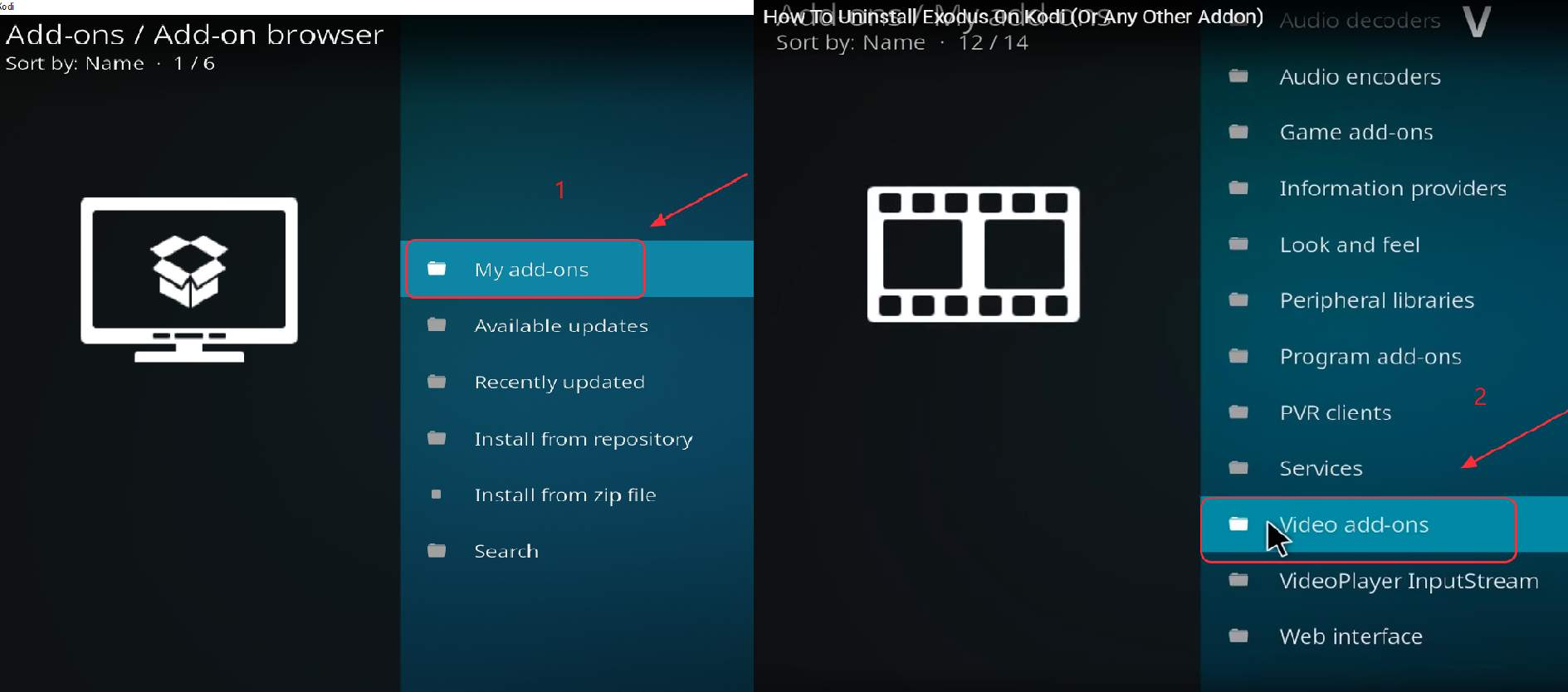 kodi exodus streaming issues