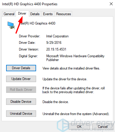 graphics device driver error code 14