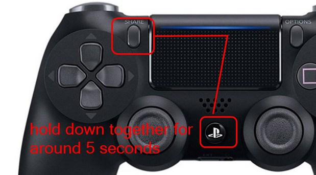 how to connect ps4 controller back to your ps4