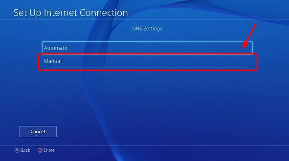 how to fix ps3 dns error wireless connection
