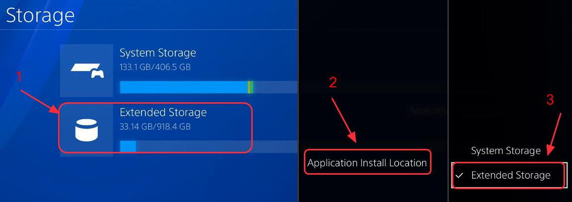 drive external hard downloading ps4 to
