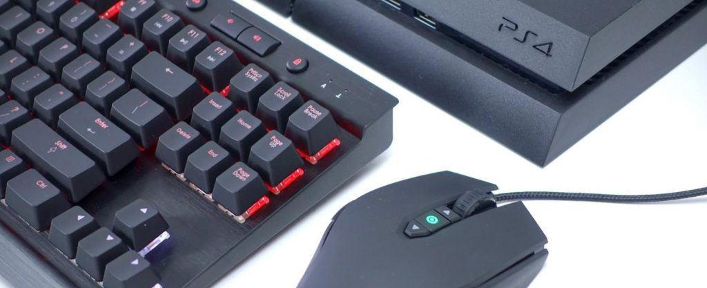 connect your mouse and keyboard to ps4 to make the most of it - fortnite ps4 keyboard and mouse delay