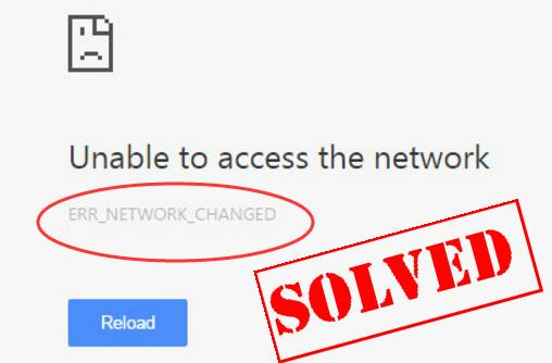 Solved] ERR_NETWORK_CHANGED Chrome Error - Driver Easy