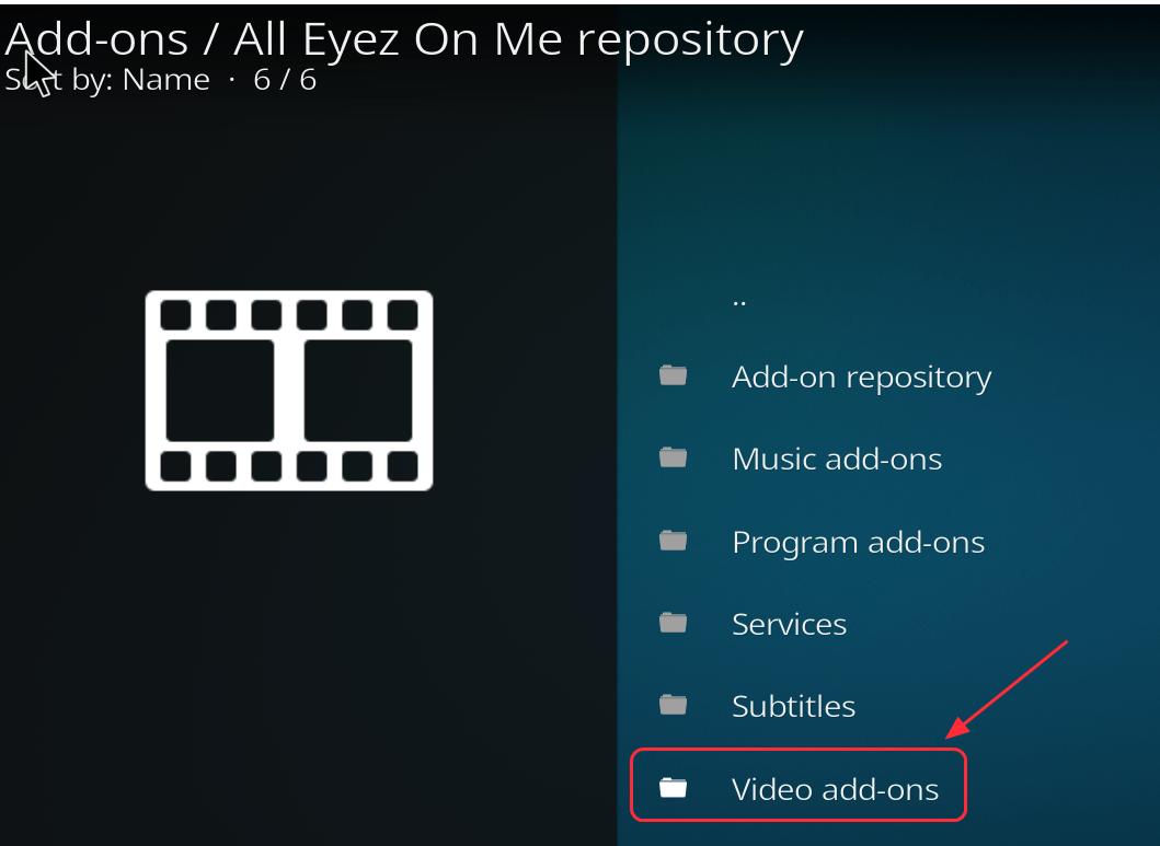 kodi install from repository not working