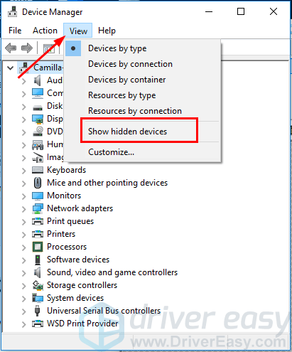 asus realtek network driver windows 10