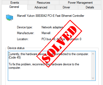Error Code 45 in Device Manager [SOLVED] - Driver Easy
