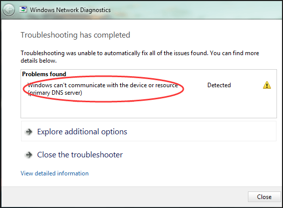 Windows can't communicate with the device or resource [Fixed