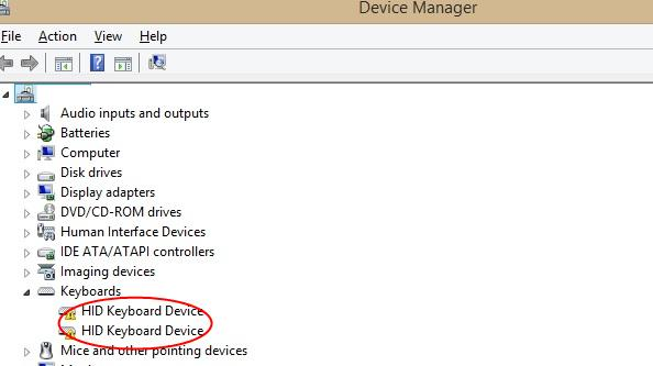 How to get back missing devices from device manager in windows 10.