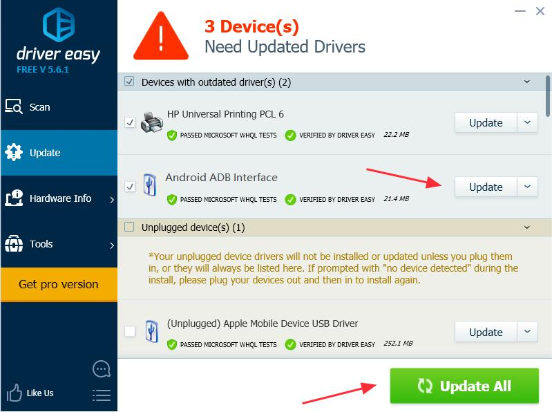 Download Universal ADB Driver Easily! - Driver Easy