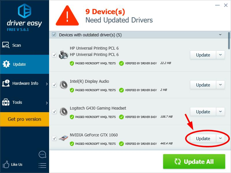 FIX: Failed to Create D3D9 Device - Driver Easy