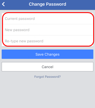 Solved] How to Change Facebook Password | Quickly & Easily