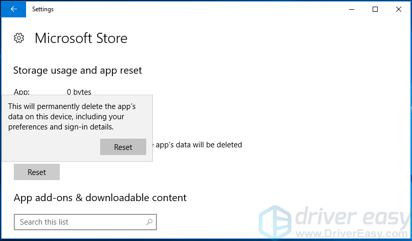 Windows Store cache may be damaged [SOLVED] - Driver Easy