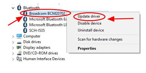 Broadcom Bluetooth Driver Download in Windows 10/8/7 - Driver Easy