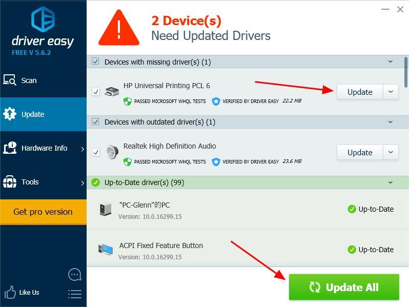 HP Universal Print Driver Windows PCL5 (64bit) - Universal ...