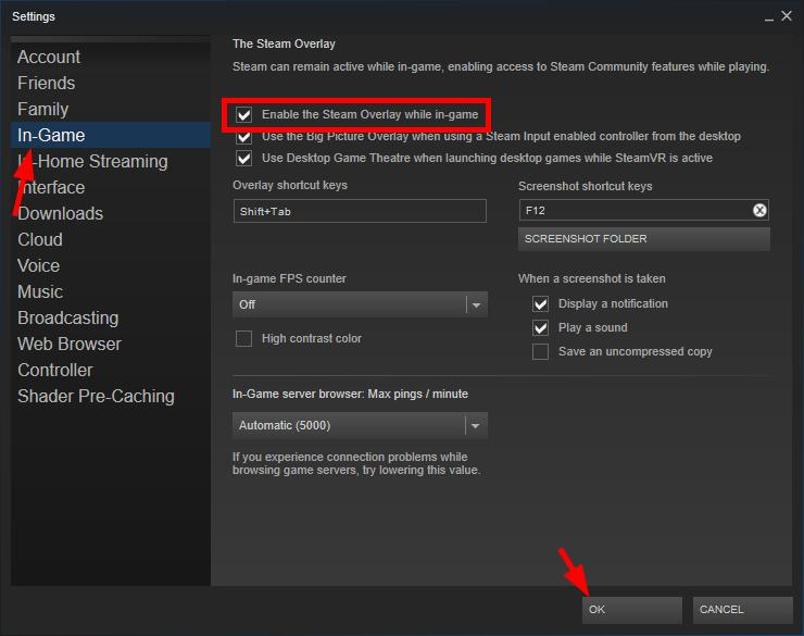 Steam Overlay Not Working [FIXED] - Driver Easy