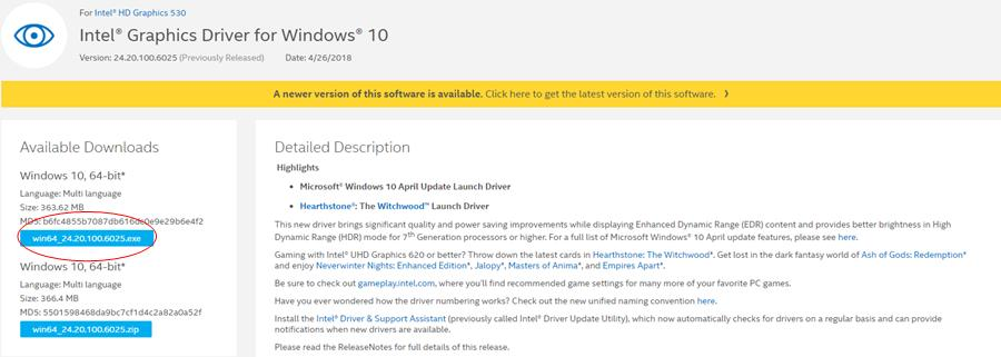 Update Intel HD Graphics 530 Driver Quickly & Easily