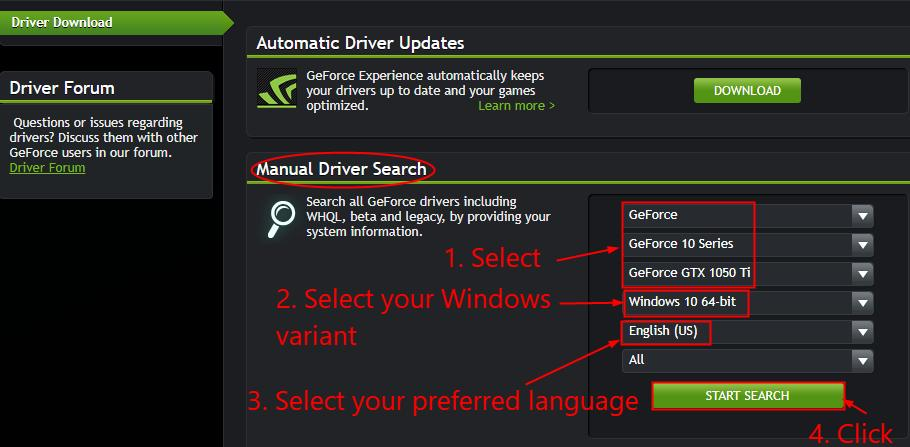GTX 1050 Ti Drivers Download & Update for Your Better Gaming