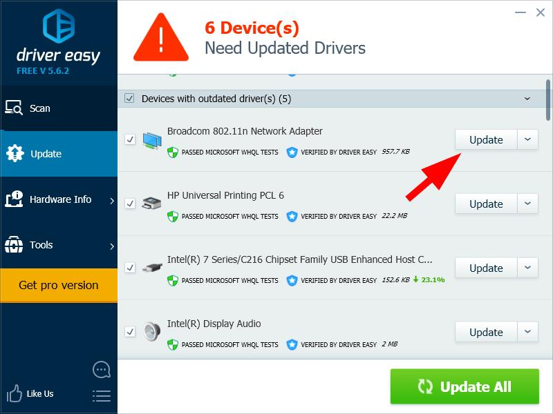 Update Wireless Software or Driver on Windows 10 - Driver Easy