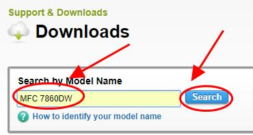 brother mfc 7860dw drivers download