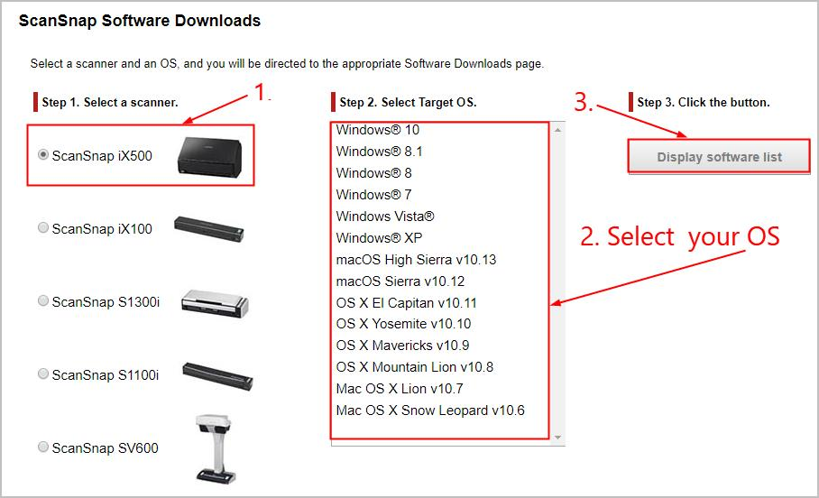 Scansnap Mac Software Download