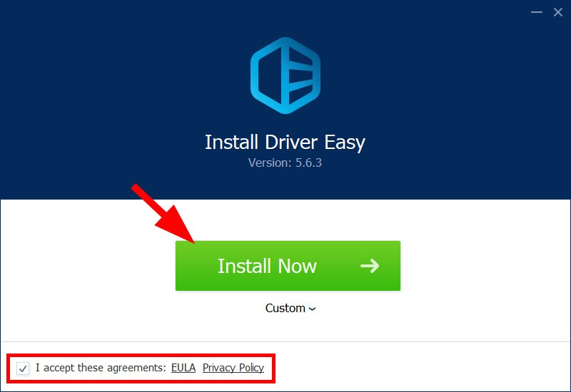 install driver easy
