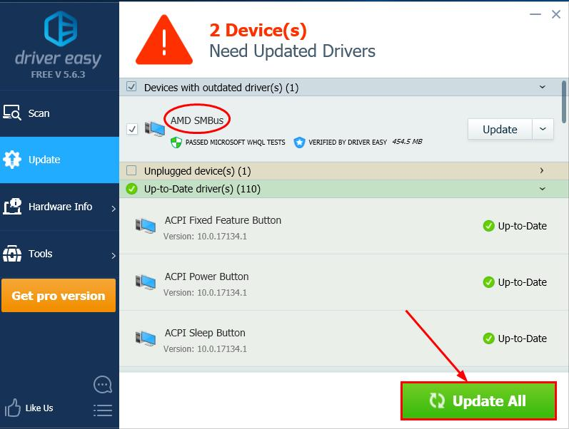 AMD SMBus Driver Download & Update  Quickly & Easily! - Driver Easy