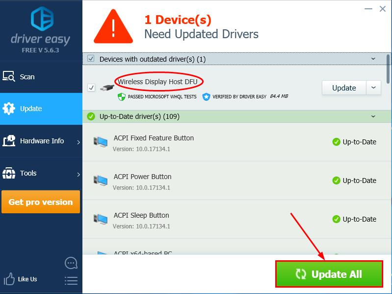 Miracast: not supported by graphics driver [FIXED] - Driver Easy