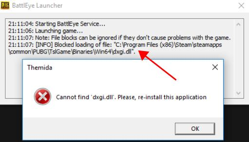 Solved] PUBG Cannot find dxgi dll Error - Driver Easy