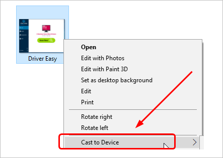 Cast to Device Not Working on Windows 10 [Solved] - Driver Easy