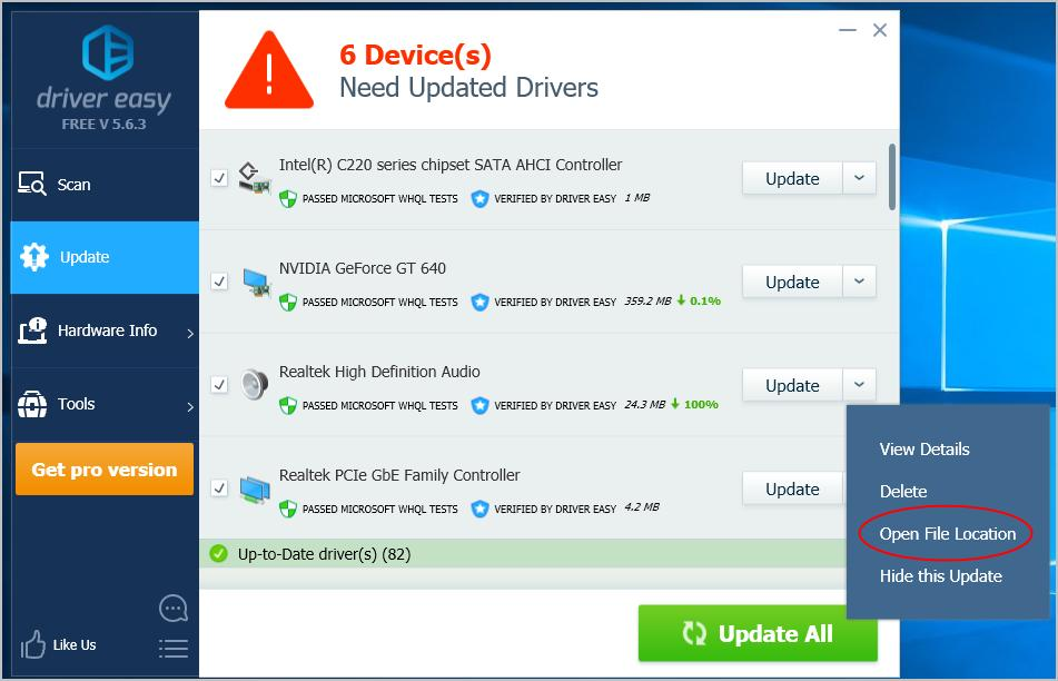 Update Drivers in Windows 10  Easily! - Driver Easy