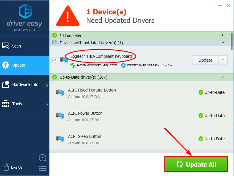 Laptop Keypad Not Working in Windows 10/8/7 [SOLVED] - Driver Easy