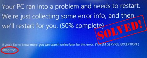 system_thread_exception_not_handled (iastor.sys) windows 7