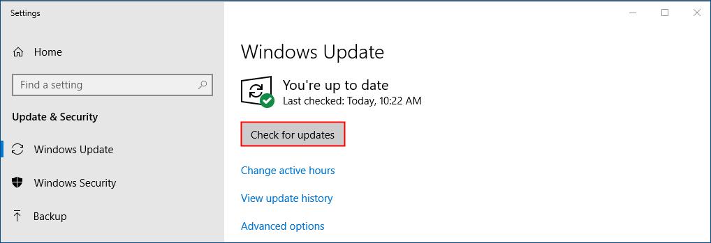 windows update origin