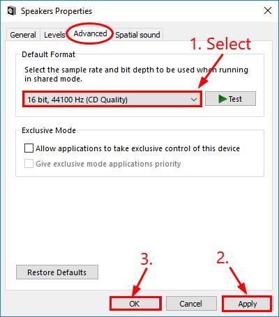 Speaker Crackling In Windows 10 7 Solved Driver Easy