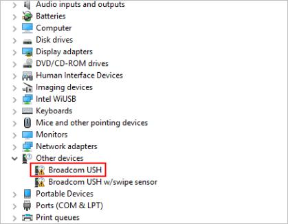 Broadcom ush swipe sensor driver windows 10 fliperogon.