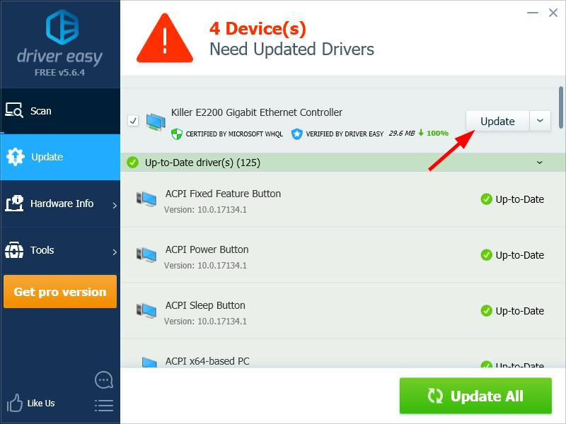 gigabit ethernet driver windows 7 32 bit download