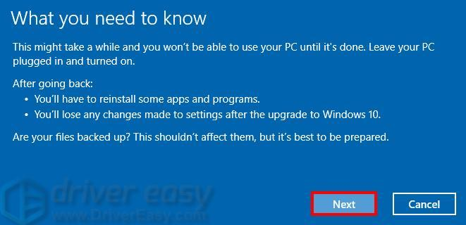 How to Uninstall Windows 10 Update - Driver Easy