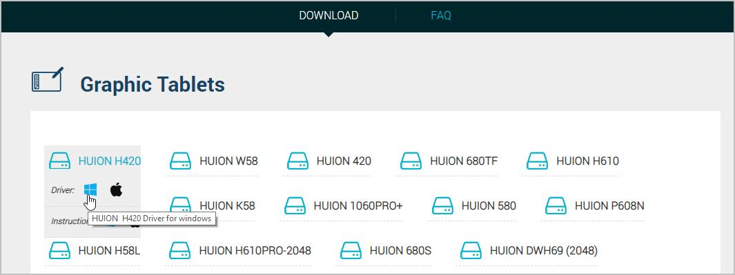 Huion Tablet Driver Download for Windows - Driver Easy