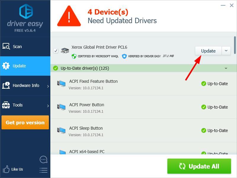 Xerox Printer Driver Download for Windows - Driver Easy