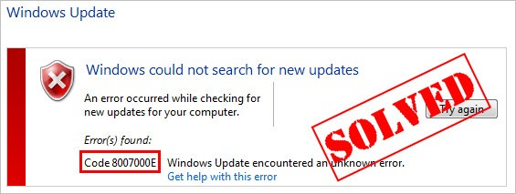 Solved] Windows Update error 8007000e | Quickly & Easily! - Driver Easy