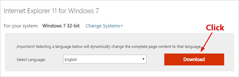 download the latest version of IE 11