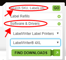 DYMO LabelWriter 4XL Label Printer Driver Download and